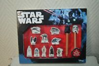 COFFRET 10 FEVES COLLECTOR STAR WARS  + 2 FEVE  SUR CRAYON HORS SERIE NEUF