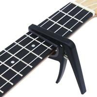 Ukulele Capo Clamp Banjo Mandolin Electric Acoustic Guitar Spring Clip Rack Tool
