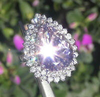 Gorgeous Amethyst Women 925 6-10 Engagement Wedding Ring Jewelry Silver Plated