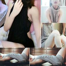Girl Sweaters Cosplay Virgin Pullover Sexy Backless Turtleneck Killer Sleeveless