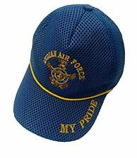 My Pride Daisy Indian Armed Forces Logos caps Indian Air Force Sky Blue