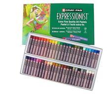Sakura XLP50 50-Piece Cray-Pas Expressionist Assorted Color Oil Pastel Set, New,