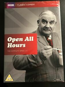 BBC COMEDY: OPEN ALL HOURS - THE COMPLETE COLLECTION SERIES 1 - 4 (DVD BOXSET)