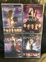 COFFRETS DVD SERIE : REVENGE - L'INTEGRALE : SAISONS 1 A 4 - SECRETS / REVANCHE