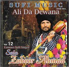 SAIN ZAHOOR AHMAD - VOL 12 - ALI DA DEWANA - BRAND NEW CD