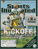 PACKERS Ahman Green signed Sports Illustrated magazine 2005 JSA COA AUTO SI