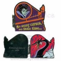 Disney Pin 59295 DLR Villain Maleficent Sleeping Beauty 1959 Many Curses LE *