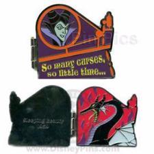 Disney Pin 59295 DLR Villain Maleficent Sleeping Beauty 1959 Many Curses LE MOC