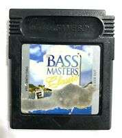 BASS Masters Classic NINTENDO GAMEBOY COLOR GAME Tested WORKING Authentic!