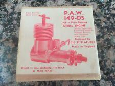 Gig Eifflaender - PAW 149-DS Model Plane Diesel Engine