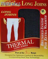 White Thermal Long Johns 0.45 Tog Rating X2