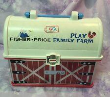Fisher Price Play Family Farm Barn Lunchbox Purse Handbag Tote Travel Case