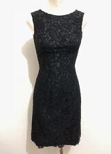CULT VINTAGE AÑOS 70 Vestido De Mujer Encaje Algodon Lace Sz. XS - 38