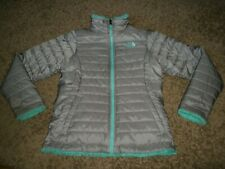 Kids Girls The North Face Reversible Puffer Fleece Jacket Coat Size Large 14 -16