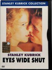 Dvd Eyes Wide Shut - edición restaurada Snapper por Stanley Kubrick 1999 Usado