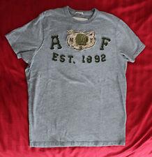 Abercrombie & Fitch - Men's SS T-Shirt - Size Large - Gray Ash - EUC