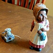 """New listing Martha Holcombe All God's Children Figurine """"Bonnie & Buttons"""",1987,#133,s tamped"""