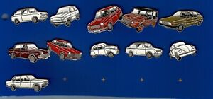 11 pins pin coches diferentes marcas