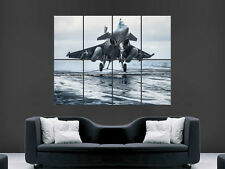 RAFALE FIGHTER JET MILATARY PLANE  ARMY ART HUGE LARGE  GIANT POSTER PRINT