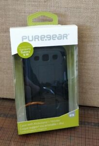 PureGear Case with Kickstand for Samsung Galaxy S3 - Black