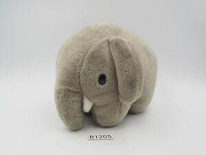 "Miffy B1205 Elephant Dick Bruna Sekiguchi Mercis Plush 5"" Toy Doll Japan"