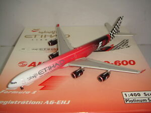"Phoenix 400 Etihad Airways A340-600 ""2009 Abu Dhabi - Formula One"" 1:400"