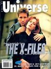 SCI-FI UNIVERSE MAGAZINE - DAVID DUCHOVNY & GILLIAN ANDERSON X-FILES COVER 1996