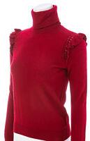 KATE SPADE NEW YORK Ruffle-Trimmed Turtleneck Sweater