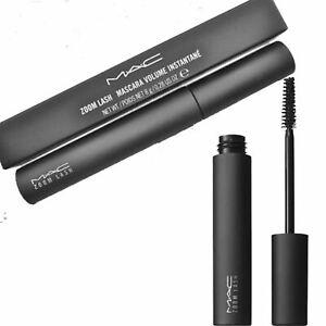 MAC mascara 8g. Zoom Lash Black Mascara Volume Instant Eye Make Up Eyelashes UK