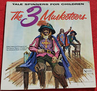 The 3 Musketeers Tale Spinners For Children LP - 1962 Original Vinyl Album