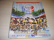 PG OFFICIEL SPECIAL AVANT TOUR de FRANCE 1989 MOTTET LES EQUIPES LA CARTE