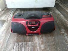 JVC Portable AM/FM Stereo CD/ Cassette Player model RC-BX330RD