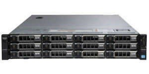 DELL PowerEdge R720xd LFF 2×8-Core E5-2670 Xeon 2.6GHz 192GB RAM 12×4TB SAS H710