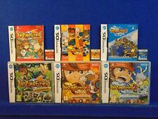 ds INAZUMA ELEVEN X3 Games 2 Blizzard + Firestorm DSi 3DS PAL UK REGION FREE