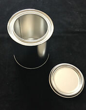 Tinplate Empty Container Incl. Lid for Solvent-Based Colours and Paint 1 Litre