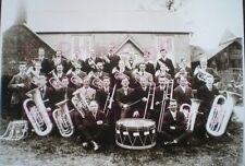 "PRINT 10"" X 7""  TADLEY GOSPEL TEMPERANCE BAND HAMPSHIRE c1924"