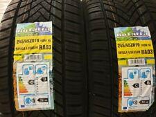 2X NEW CAR SUV TYRES ROTALLA ALL SEASON/SNOW/ICE 245/45 ZR19 XL 245 45 19 M&S