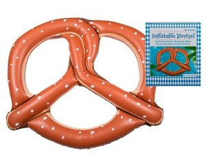 Giant Beer Pretzel Inflatable Air Mattress / Bed / Lilo / Large Lounger