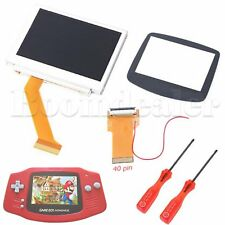 40pin Playstation AGS-101 Backlit LCD Screen Game Boy Advance Backlight Mod Kit