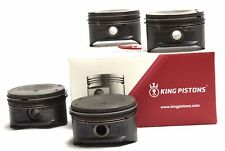 VAUXHALL OPEL 2.0 i 16V SET OF 4 PISTONS X20XEV 0.50MM SUPPLIED WITH RIKEN RINGS