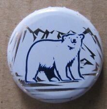 POLAR BEAR LABATT BREW CO CANADA CANADIAN OBSOLETE NO DENTS BEER BOTTLE CAP