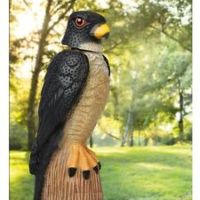 Falcon Garden Pigeon Pest Bird Humane Scarer with Moving Head in the Wind