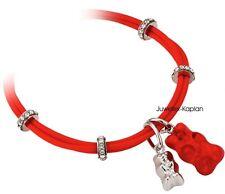 Haribo Damen Mädchen Kinder Silikon Armband Kunststoffbär Rot 360166500