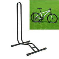 Single Bicycle Stand Garage Storage Rack Tyre Floor Parking Rail Bike Holder