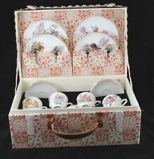 Flower Fairies - Large Tea Set w/ Case for Children Reutter  75.530/0