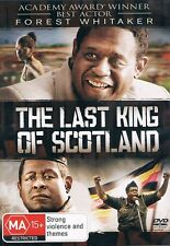 The LAST KING of SCOTLAND (Forest WHITAKER James McAVOY) True Story DVD Reg 4