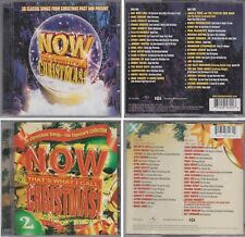 Now That's What I Call Music CHRISTMAS Volume 1 & 2 Various Artists 4 CD Lot