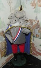 Byers Choice Fall Open House Nutcracker Suite Mouse King 2016 Signed Joyce *
