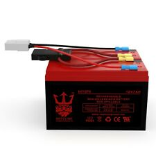 Razor Scooter 12V 7Ah Battery Replacement Set with New Wiring Harness 6-DW-7