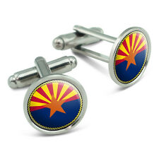 Arizona State Flag Men's Cufflinks Cuff Links Set